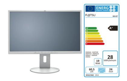 FUJITSU Display B24-8 TE Pro - with EEC label