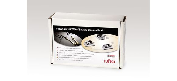 fi-6670/(A) / fi-6770/(A) / fi-6750S Consumable Kit from Fujitsu