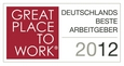 Great Place to Work Award 2012