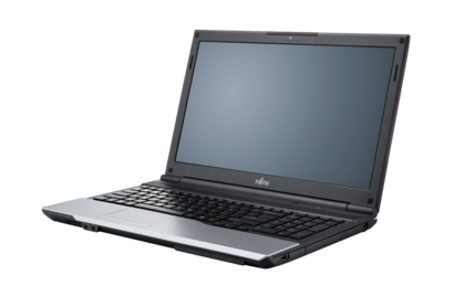 LIFEBOOK A532, right side, with reflection