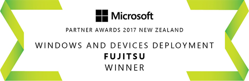 Fujitsu - Microsoft Windows and Devices Deployment Awards