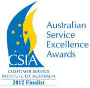 Fujitsu a finalist for the CSIA 2012 Service Excellence Award