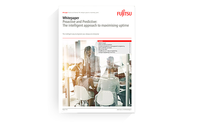 Photo of the cover of the white paper: Proactive and Predictive