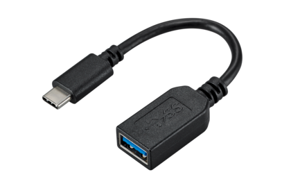 USC-C to A Adapter black
