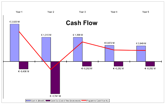 project-specific cash flow