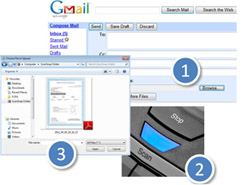 Gmail Steps