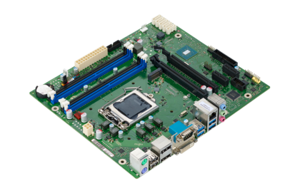 Mainboard D3401-B - side view