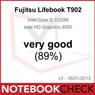 "Notebookcheck.com, ""Very Good"" (89%), Fujitsu LIFEBOOK T902, Germany - January 18, 2013"