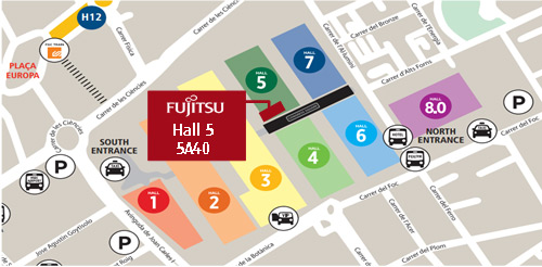 Map - Mobile World Congress 2016