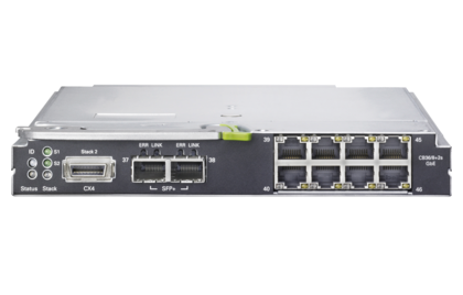 BX900 Ethernet switch IBP 1Gb 36/8 +2 - front 1