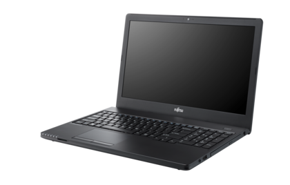 LIFEBOOK A555G - right side, with reflection