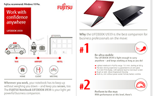 Infographic LIFEBOOK U939