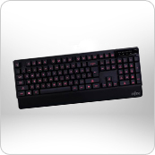 Illuminated Gaming Keyboard