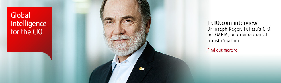Fujitsu's Dr. Reger on digital transformation