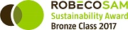Logo: Robeco SAM Sustainability Award Bronze class 2017