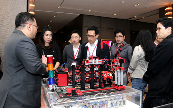 Fujitsu showcased innovations at the event