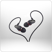 Artistic Series In-Ear Earphones