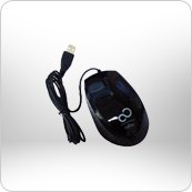 USB Optical Mouse (Black)
