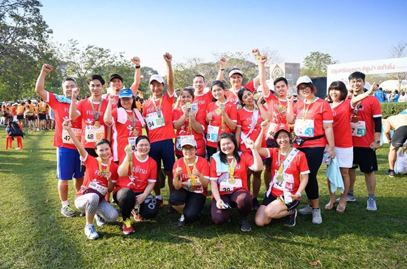"Picture Relay Run for ""Smart Health Beautiful Life"""