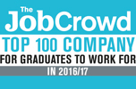 The Job Crowd. No 1 Company for graduates to work for in 2016 /17