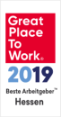 Great Place to Work logo 2019