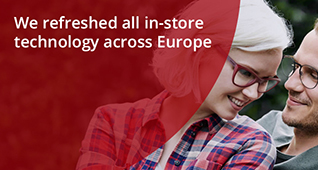 Specsavers We refreshed all in-store technology across Europe