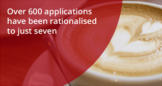 Whitbread over 600 applications have been rationalised to just seven