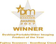 Document Manager magazine Desktop / Portable / Other Imaging Product of the Year 2017