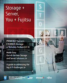 Storage + Server – You + Fujitsu