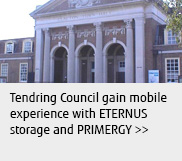 Tendring Council gain mobile experience with ETERNUS storage and PRIMERGY