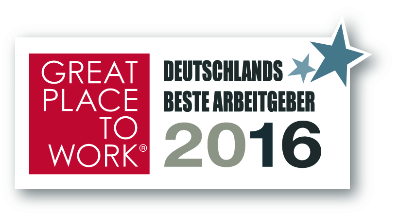 Great Place to Works logo 2016