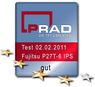 PRAD.de, test result: good, Fujitsu Display P27T-6 IPS, Germany 02.02.2011