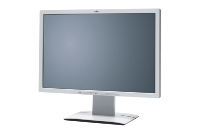 Fujitsu Display B24W-6 LED - right side, with reflection