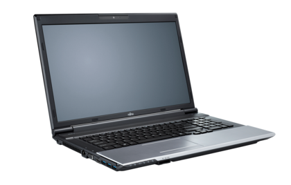 LIFEBOOK N532, left side, with reflection