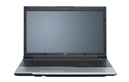 LIFEBOOK N532, front view, with reflection