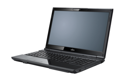 LIFEBOOK AH532, right side, with reflection