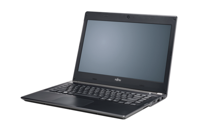 LIFEBOOK UH552, right side, with reflection