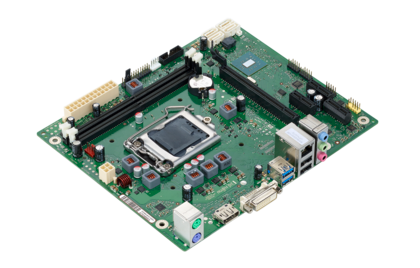 Mainboard D3400-B - side view