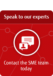 Speak to our experts. Contact the SME team today