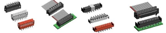Connectors and cables from Neltron include Board to Board connectors, Wire to Board connectors, USB / Mini USB connectors, IEEE 1394, D-Sub connectors, Mini Din connectors, FPC connectors, various types of sockets and various types of cable assemblies