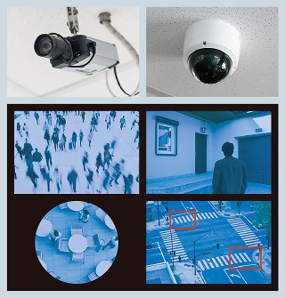 Security camera solution