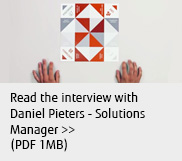 Read the interview with Daniel Pieters - Solutions Manager