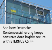 See how Deutsche Rentenversicherung keeps sensitive data highly secure with ETERNUS CS