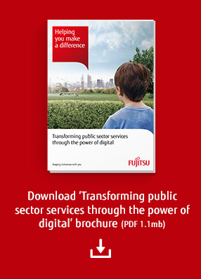 Download 'Transforming public sector services through the power of digital' brochure