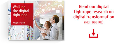 Read our digital tightrope research on digital transformation
