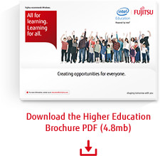 Download the Higher Education brochure PDF