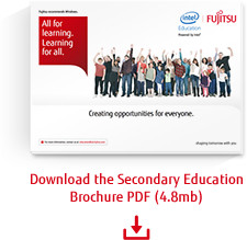 Download the Secondary Education brochure PDF