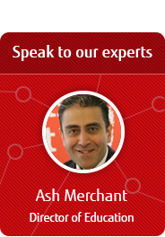 Speak to our expert - Ash Merchant, Director of Education