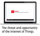 Dr Joseph Reger, Fujitsu: The threat and opportunity of the Internet of Things