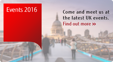 Come and meet us at the latest UK events. Find out more.